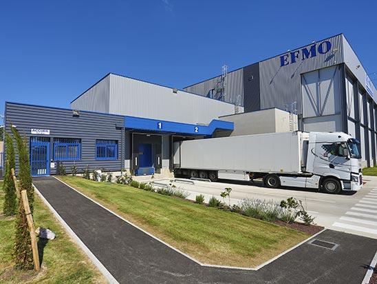 EFMO entreposage de produits à température+15° / +25° Lyon