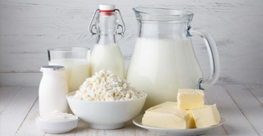 Entreposage sous température dirigée de produits laitiers